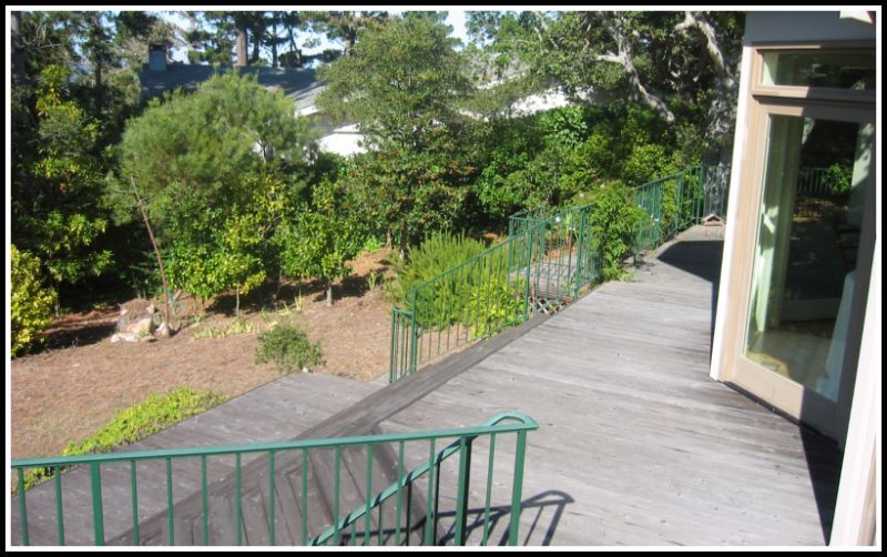 Second story addition Back deck