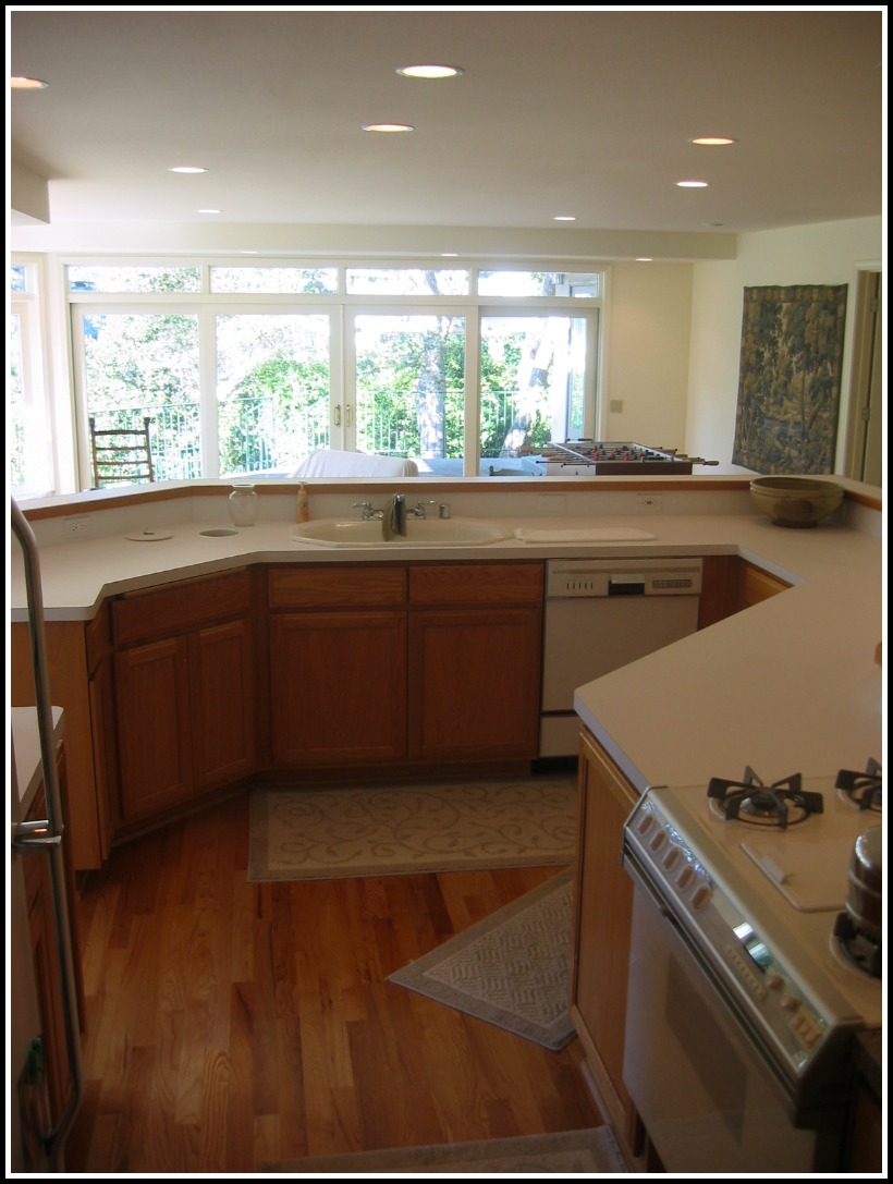Second story addition Kitchen view