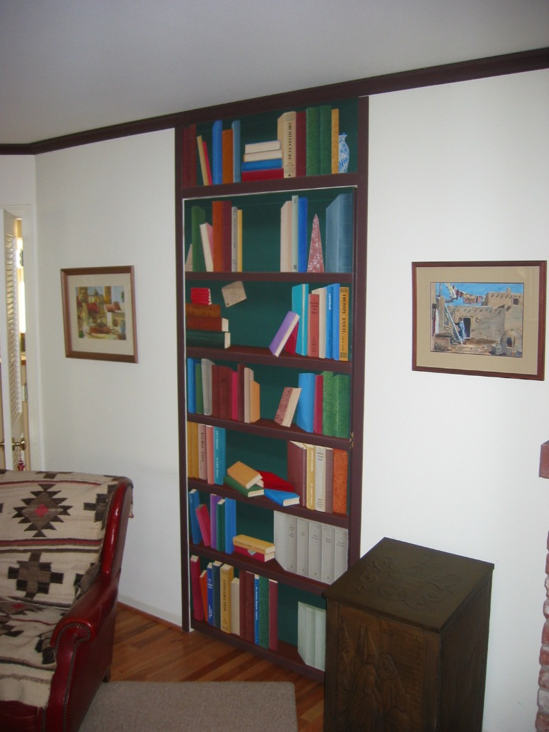 faux-bookshelf