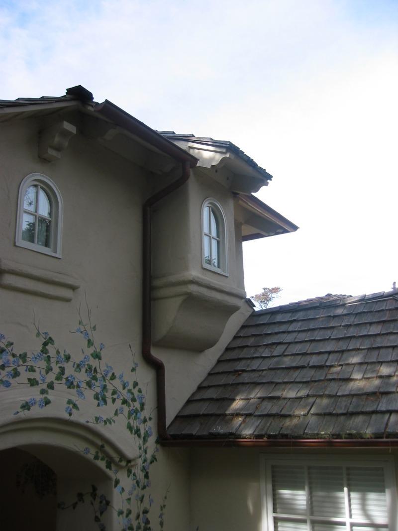 stucco detailing