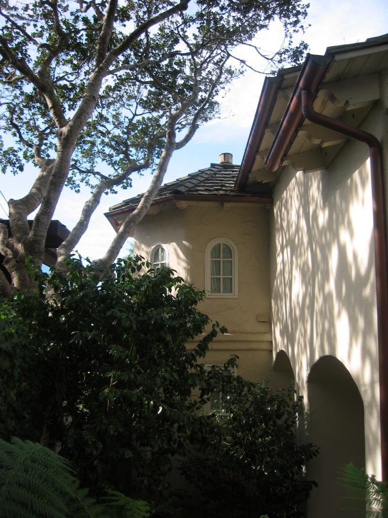 winder stair case turret