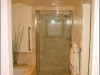 Master bath shower with custom tile