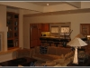Open kitchen / living room floor plan