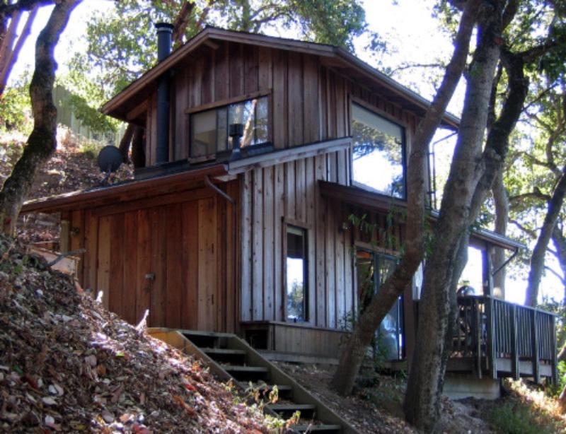 Solar home in Palo Colorado Canyon CA