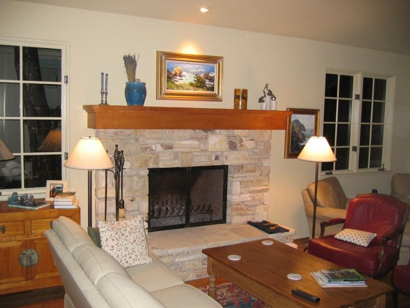 home remodel and addition fireplace