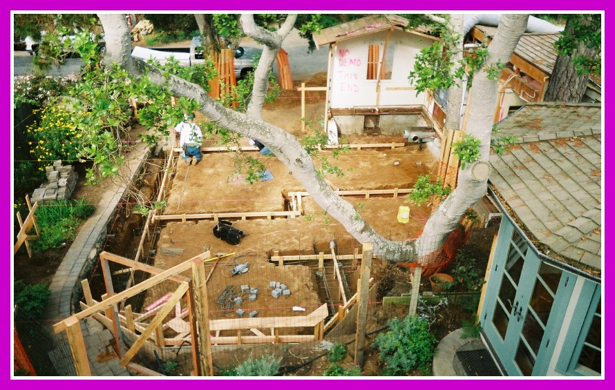 Remodel and addition footings