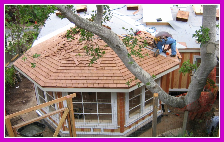 Remodel and addition roof install