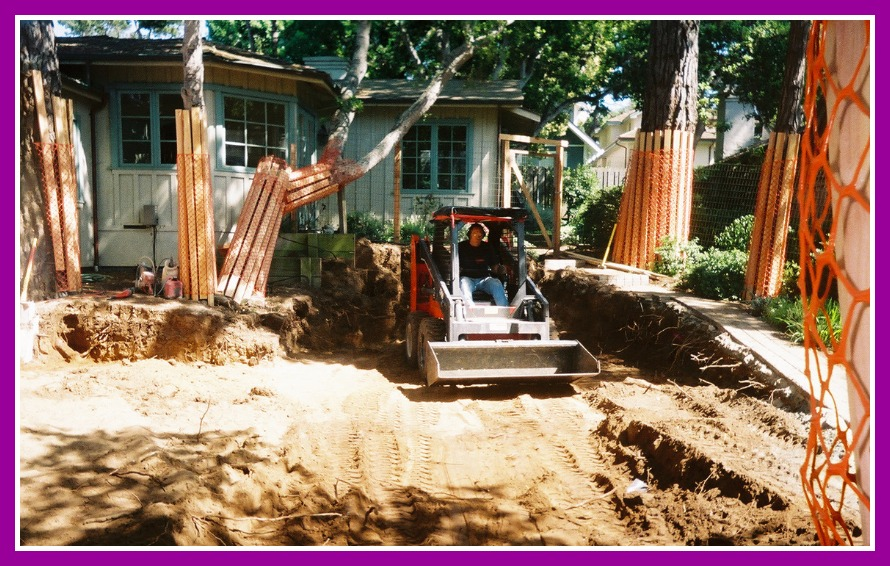 Remodel and addition excavation