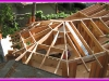 Remodel and addition roof frame