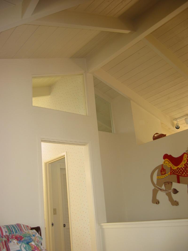 Addition with Interior windows