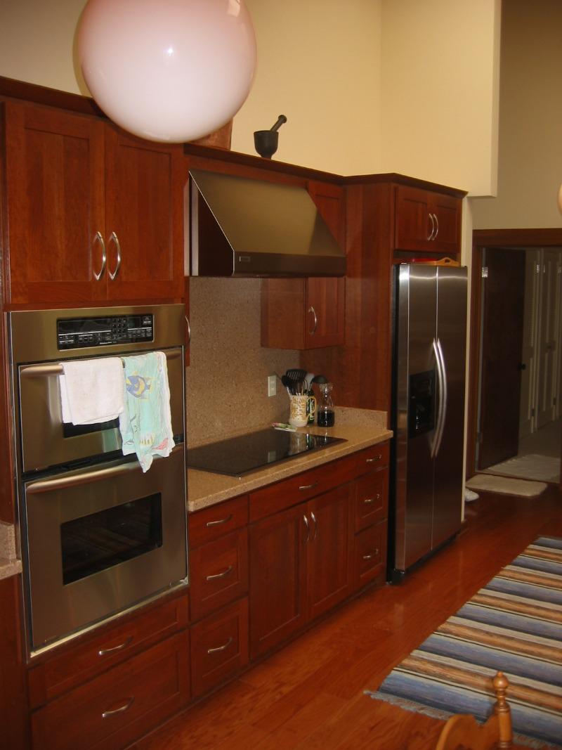 Composite counter tops, new appliances, new floor