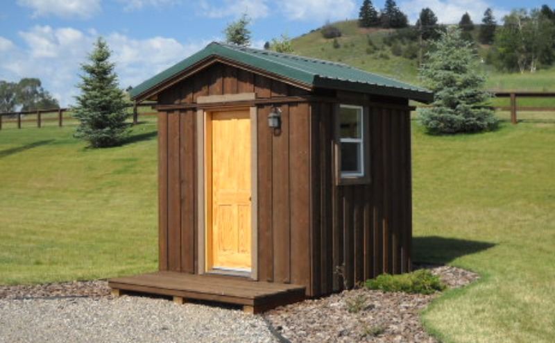 Wondrous Ranch Outhouse Design In Gallatin Gateway Mt Largest Home Design Picture Inspirations Pitcheantrous