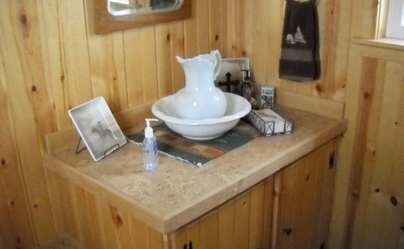 Extravagant ranch outhouse design in Gallatin Gateway, MT