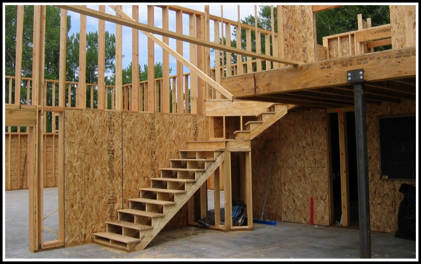 interior stair to loft