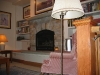 custom stone gas fireplace