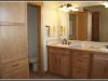 custom tile vanity