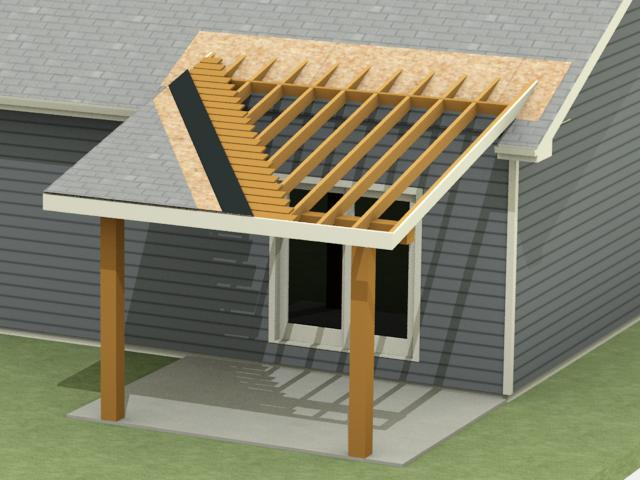 Image Of Basic Patio Cover Designs Patio Roof. Desilinks.co
