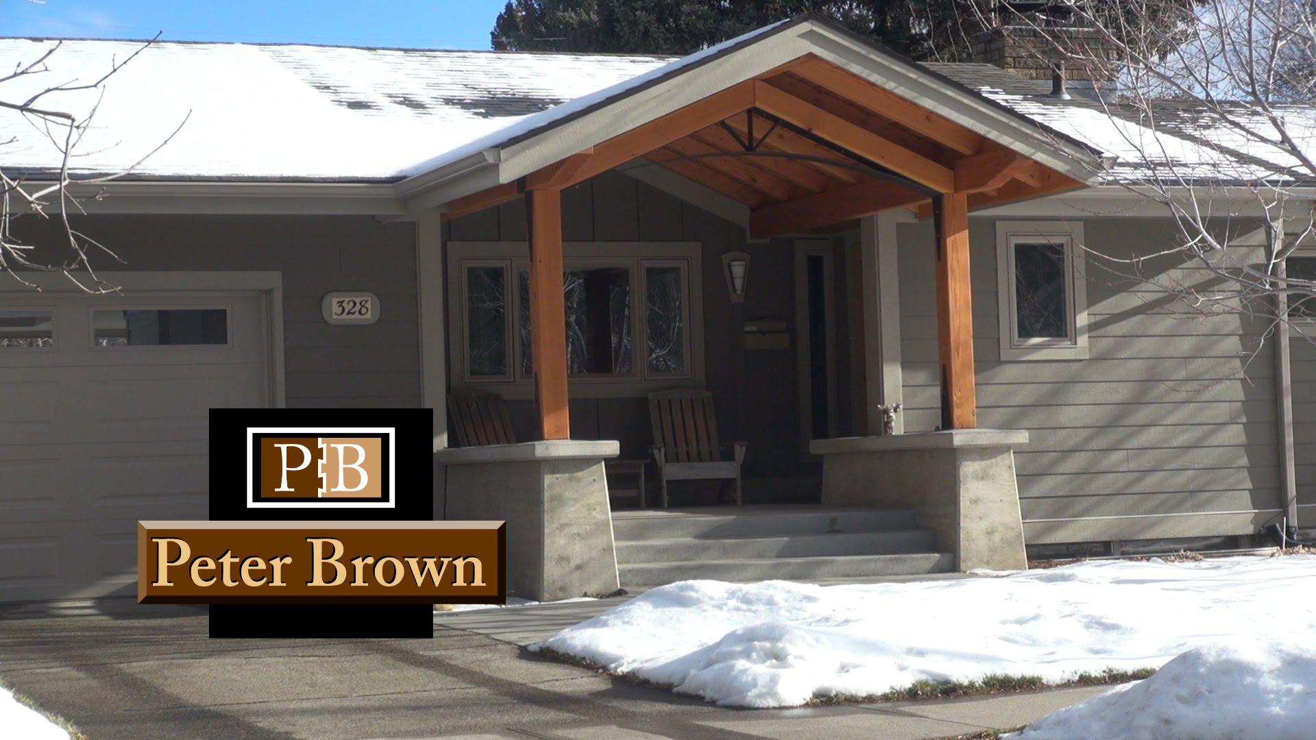 part 2 design process for a front entry patio bozeman