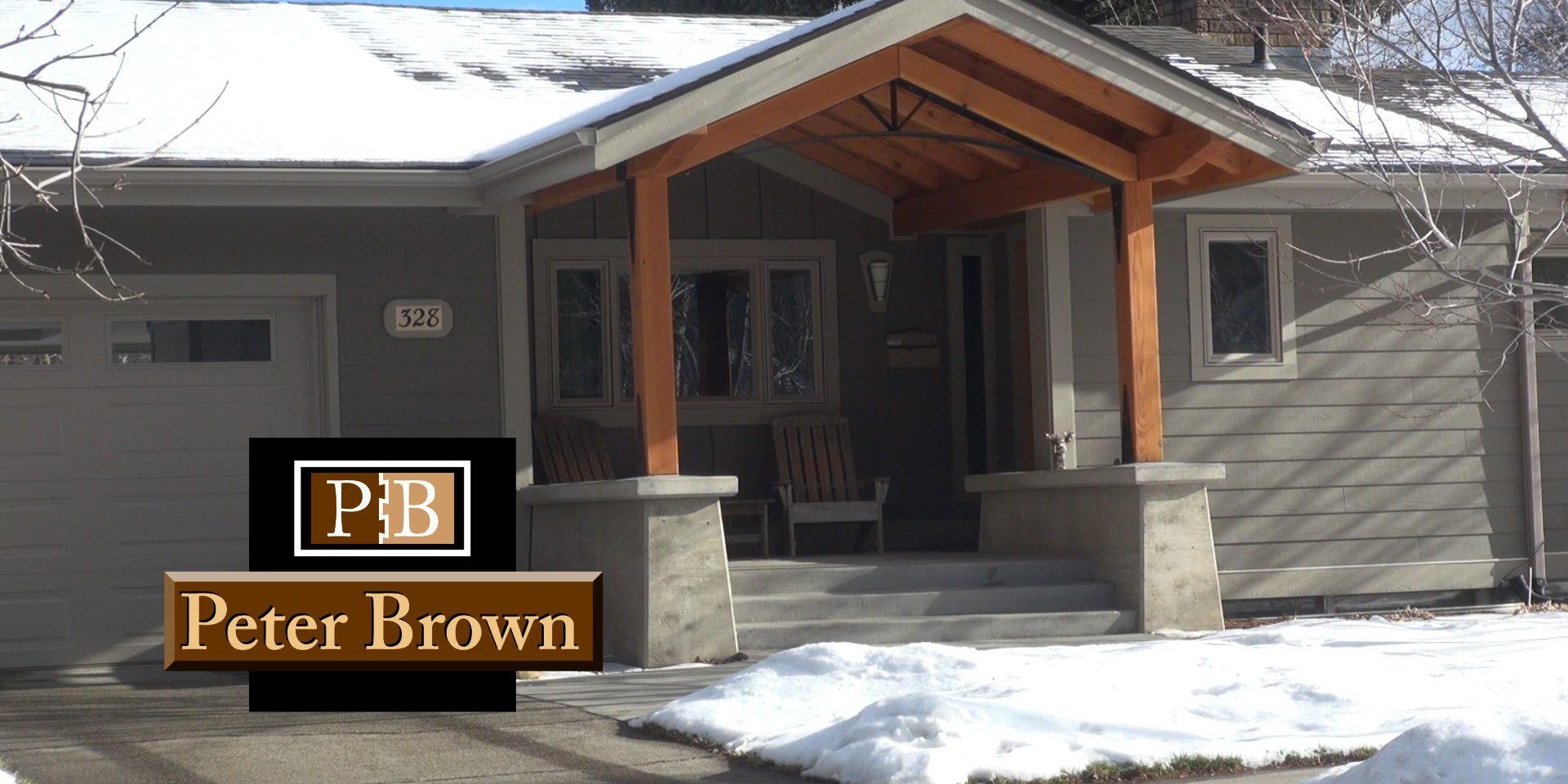 video a front patio renovation in bozeman montana
