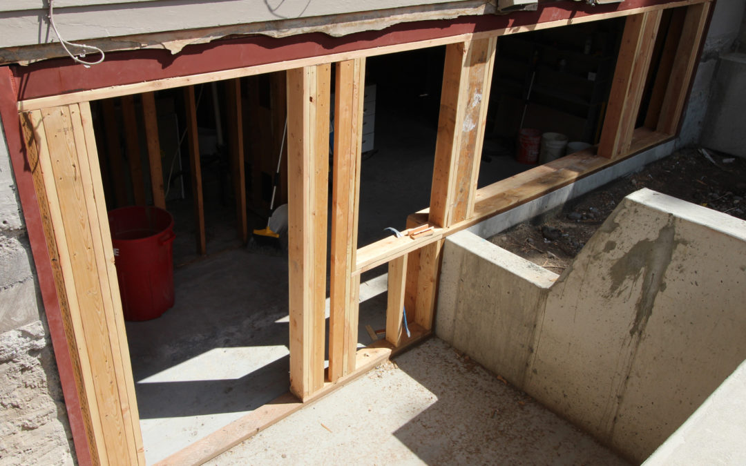 Creating A Daylight Basement In Bozeman Mt Innovative